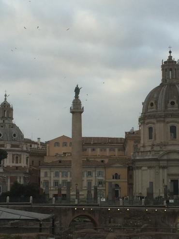 Ein Ausschnitt vom Forum des alten Roms.